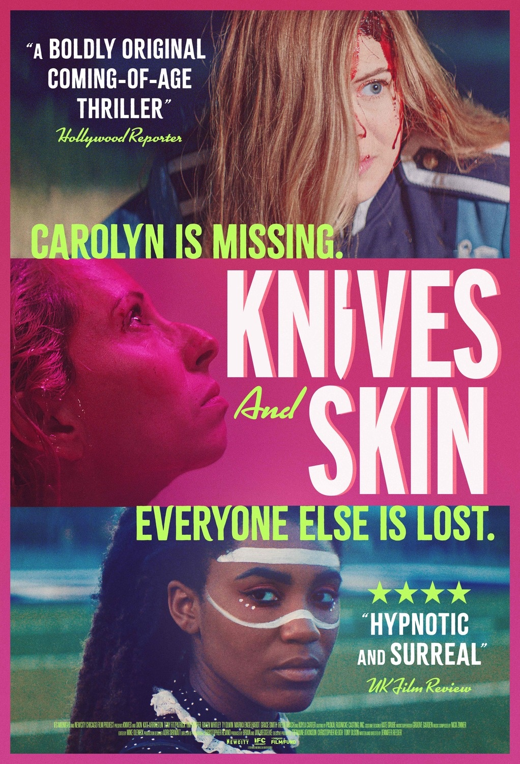 knives and skin poster 2019