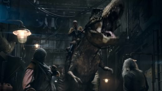 Гитлер-рептилоид и динозавр на Луне в новом трейлере сиквела «Железного неба»