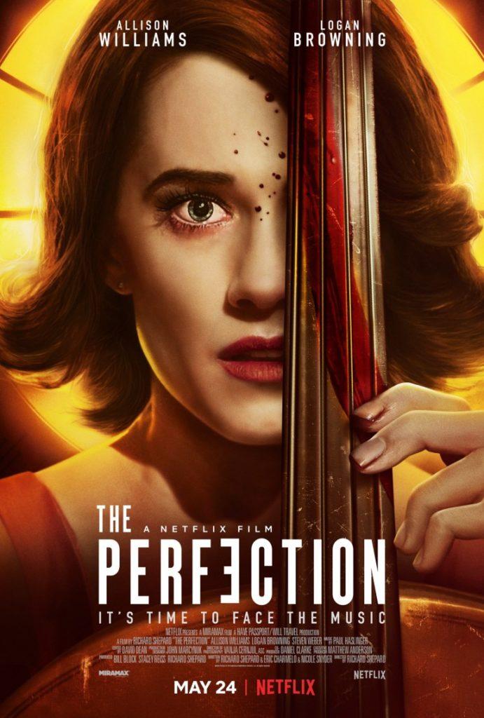 Совершенство, 2018, Эллисон Уильямс, Netflix постер