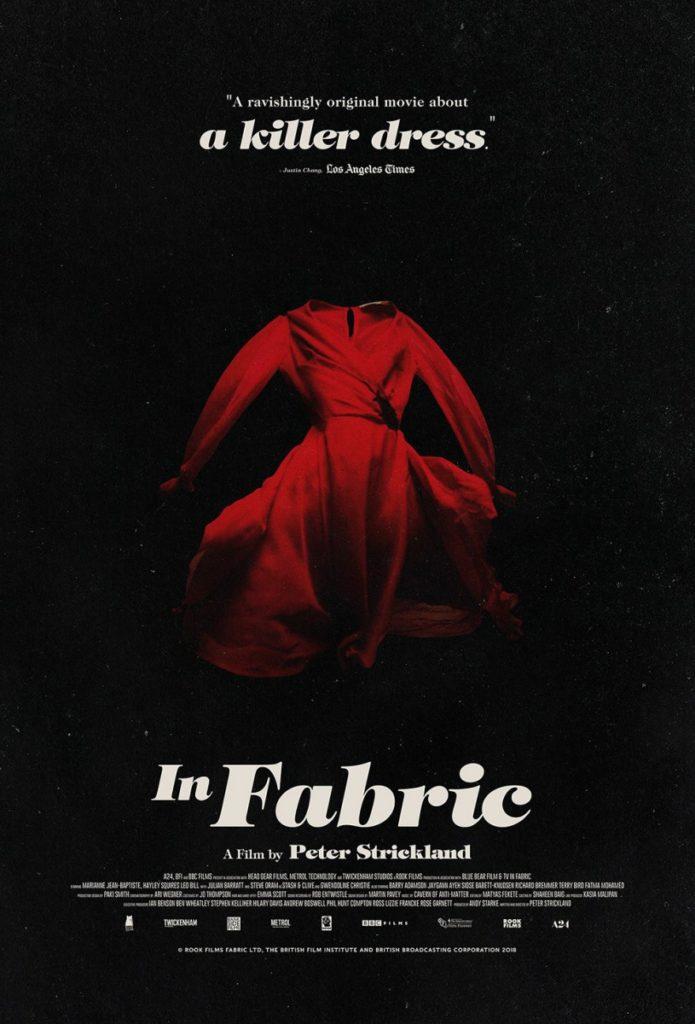 маленькое красное платье постер