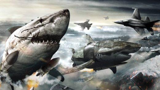 «Железное небо» встречает «Акулий торнадо» в трейлере рыбьего наци-хоррора «Небесные акулы»
