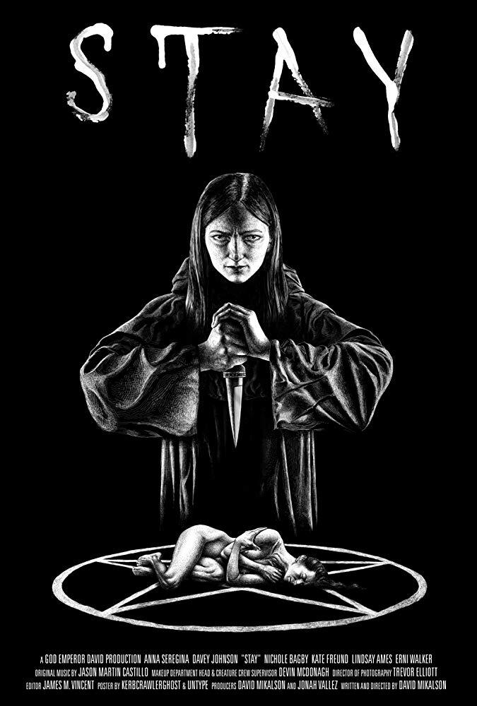 Постер: Stay - Останься (2017) - Анна Серегина