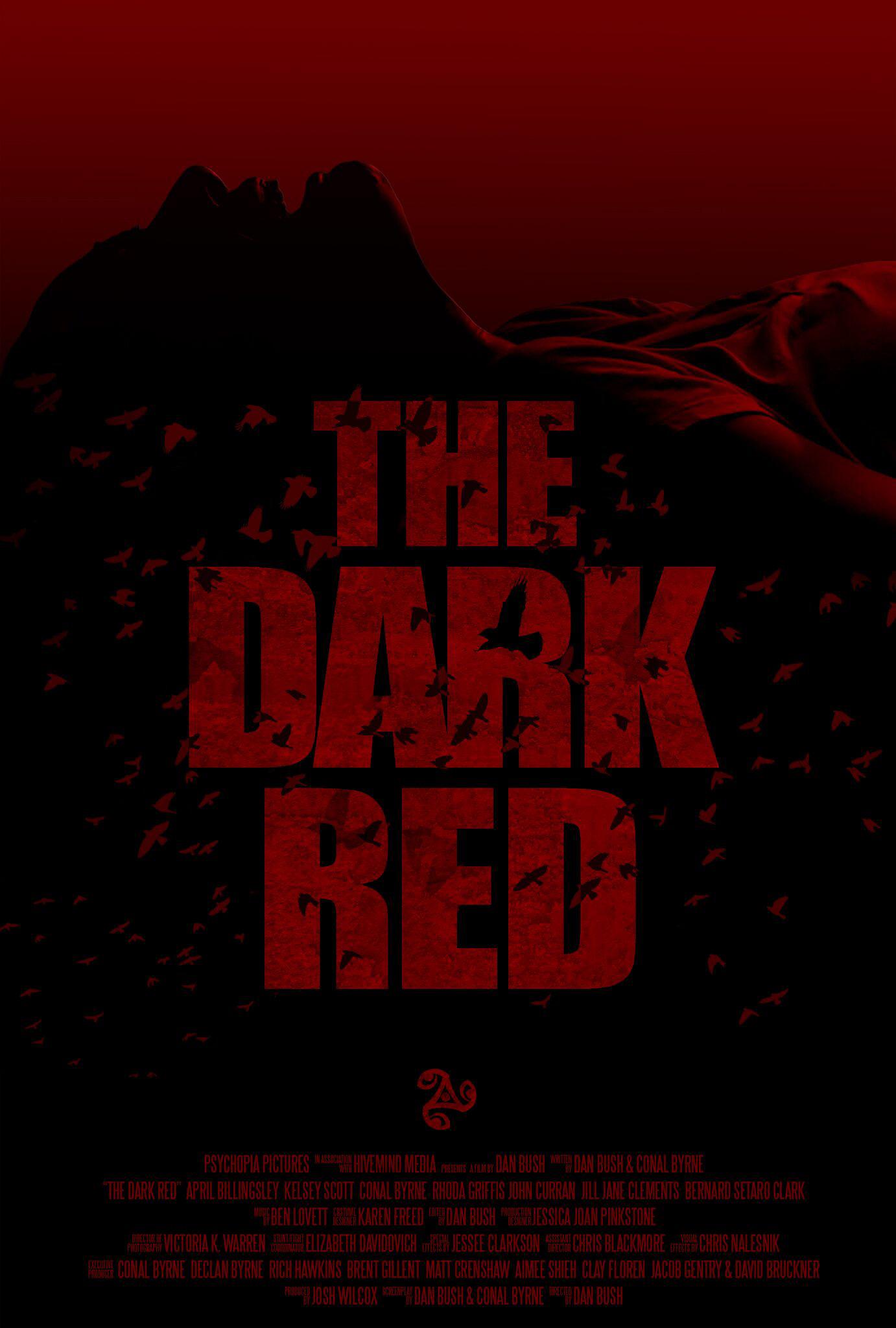 the dark red 2019 постер