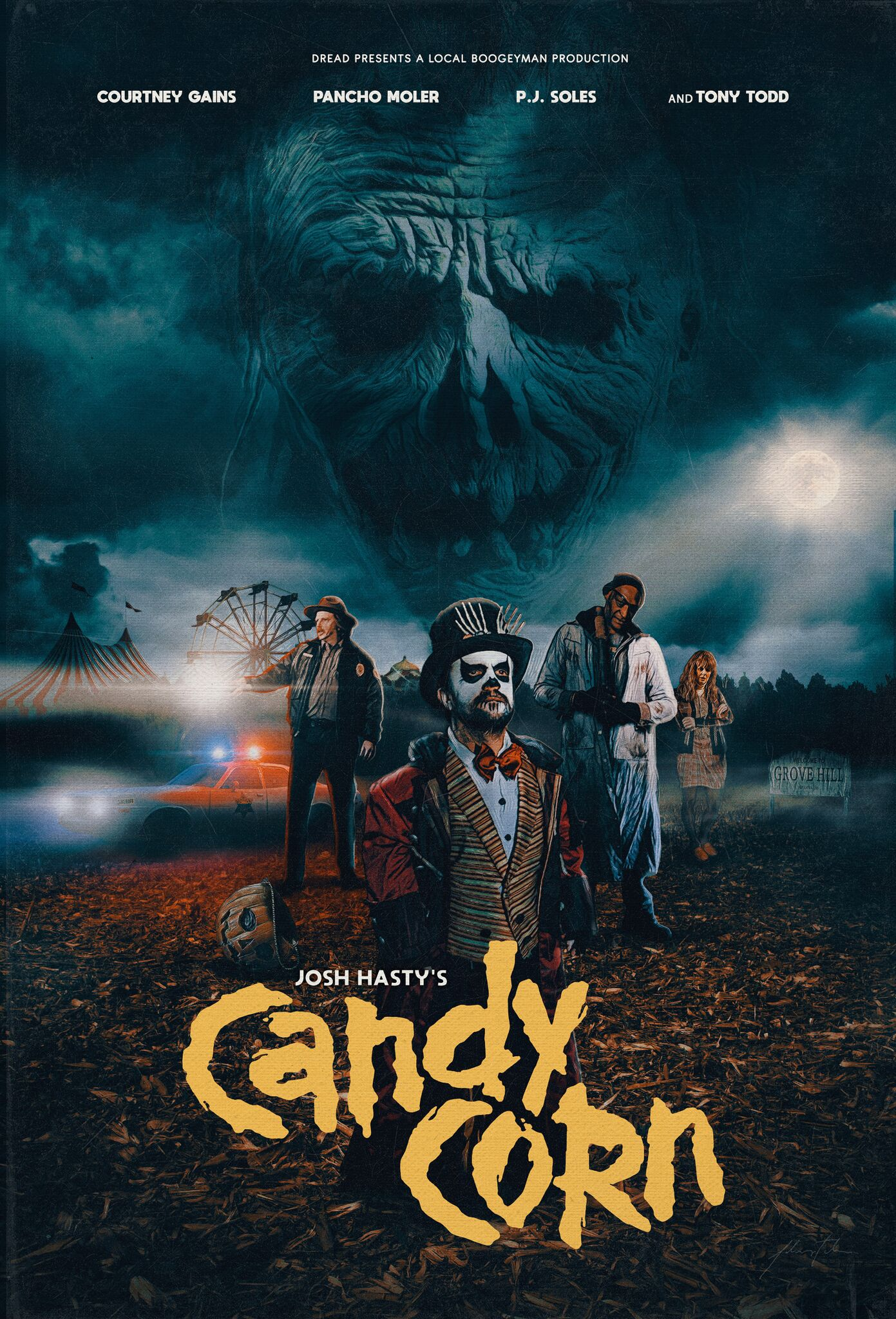 candy corn 2019 постер