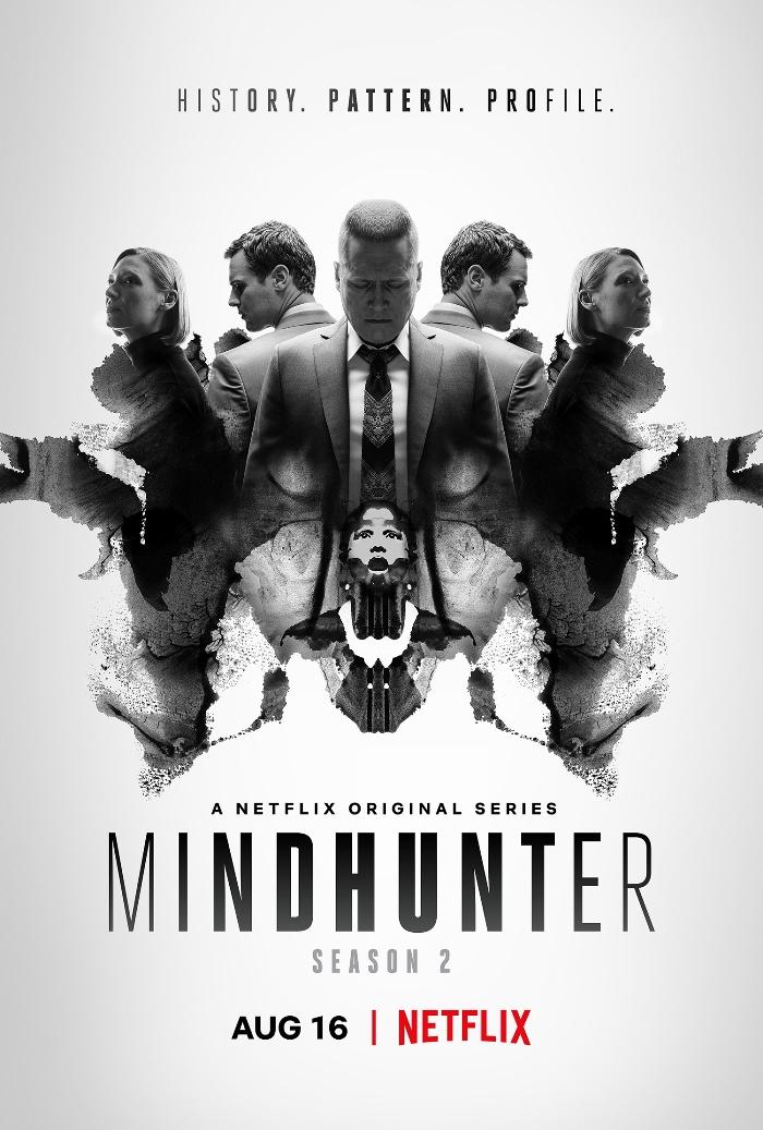 Постер: Охотник за разумом (2 сезон, 2019) - Netflix, Дэвид Финчер