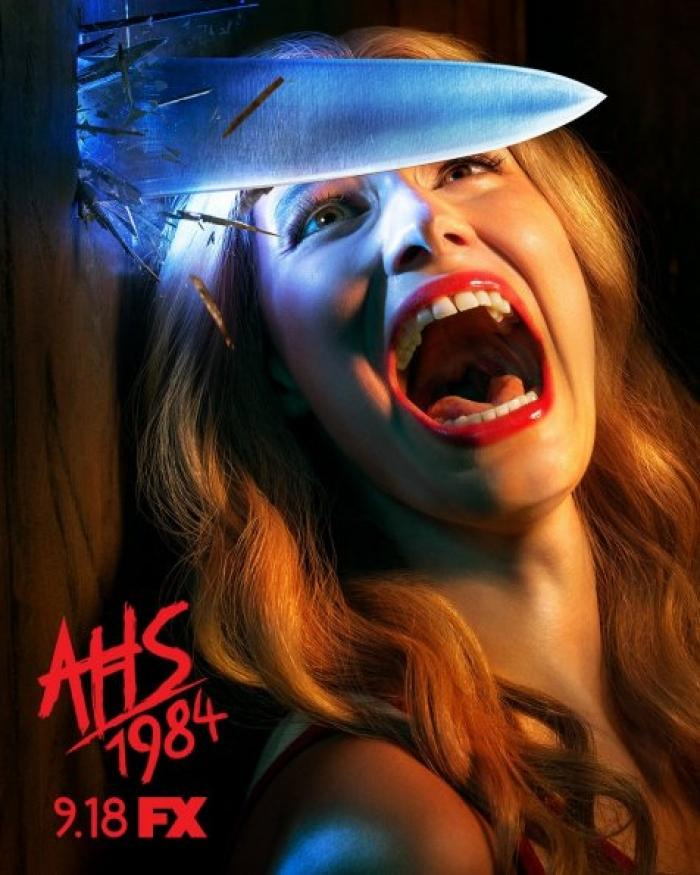 Американская история ужасов: 1984 - постер