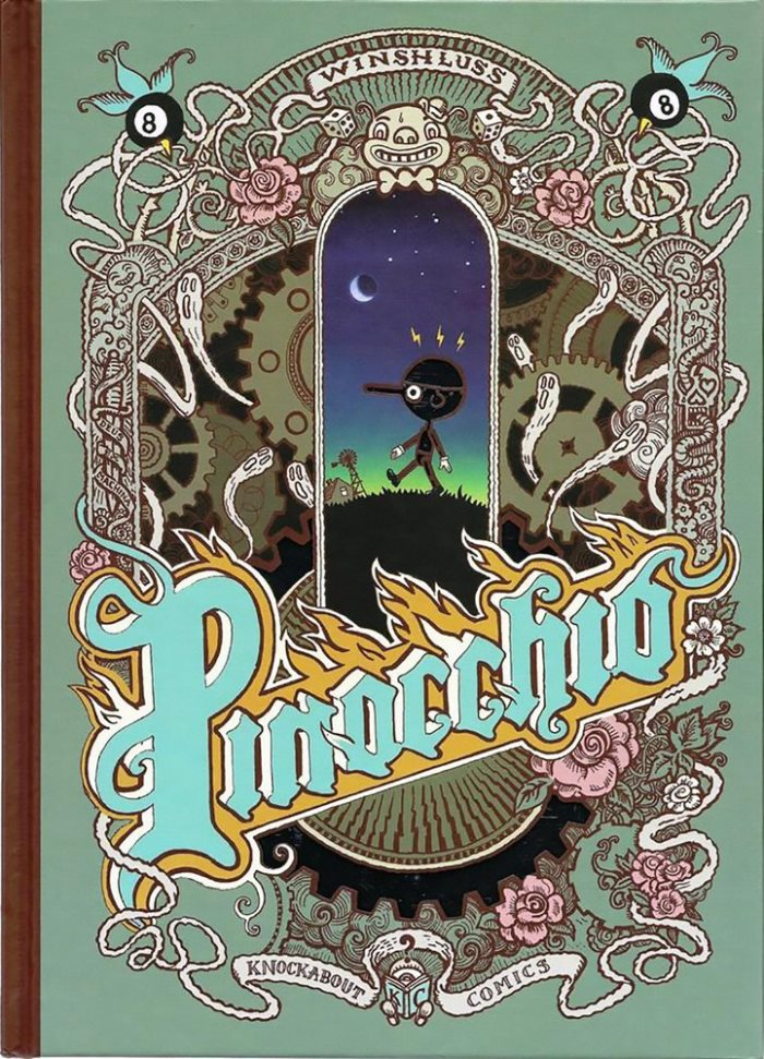 Пиноккио (Winshluss, 2008) - обложка