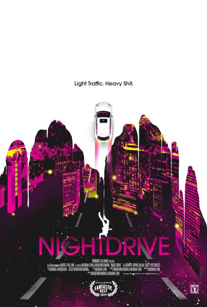 night drive постер 2019