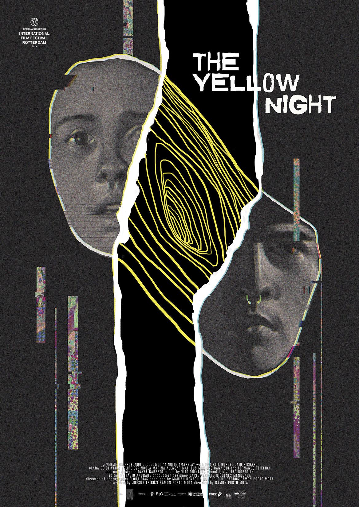 желтая ночь 2019 постер
