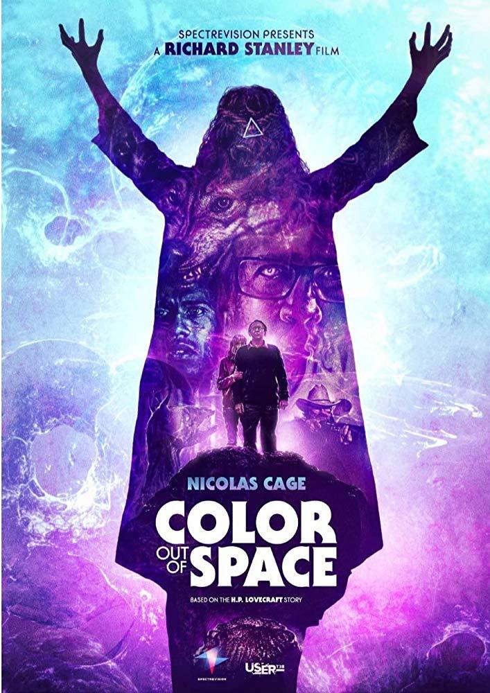 цвет из иных миров 2019 постер