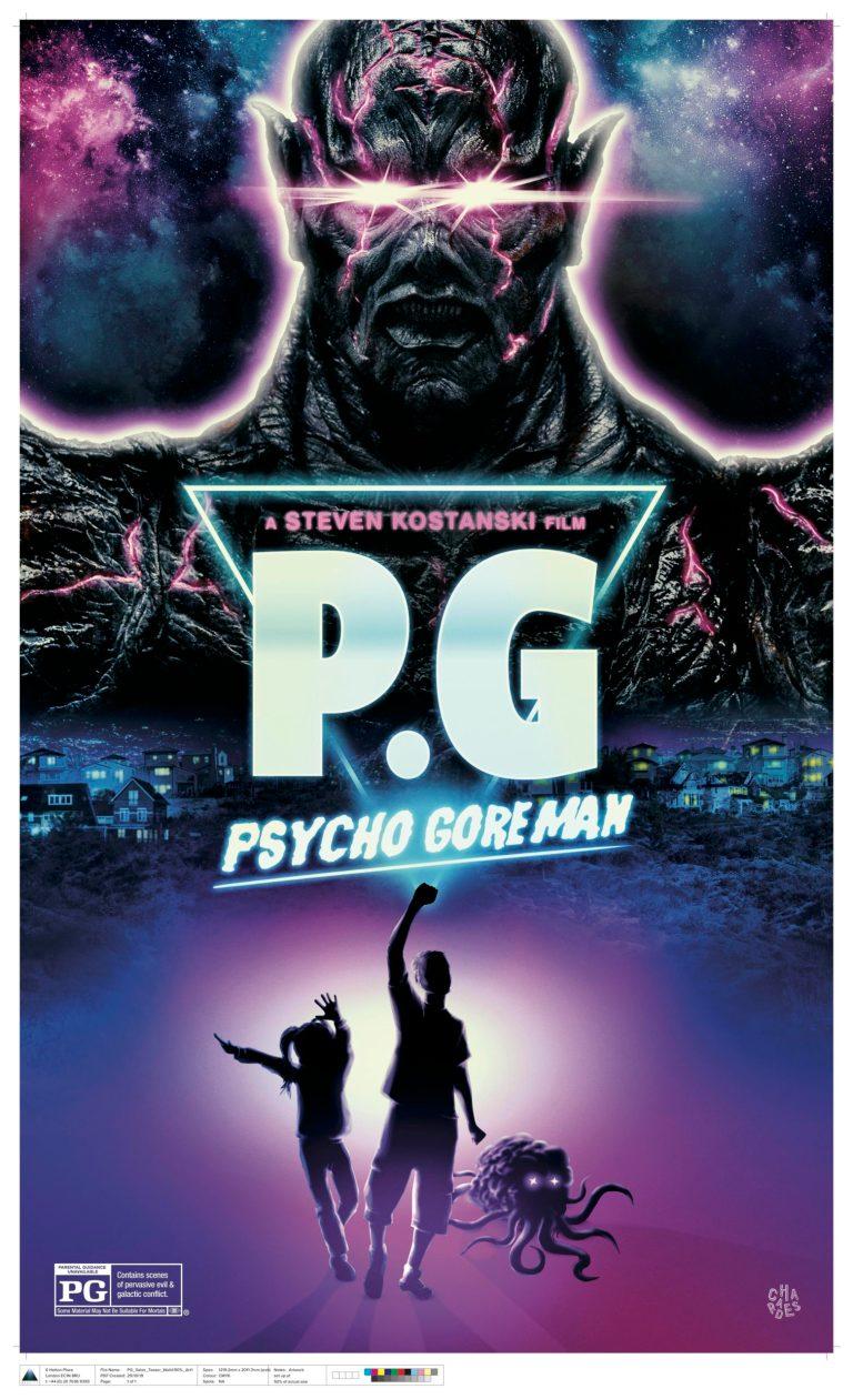 pg psycho goreman постер 2020