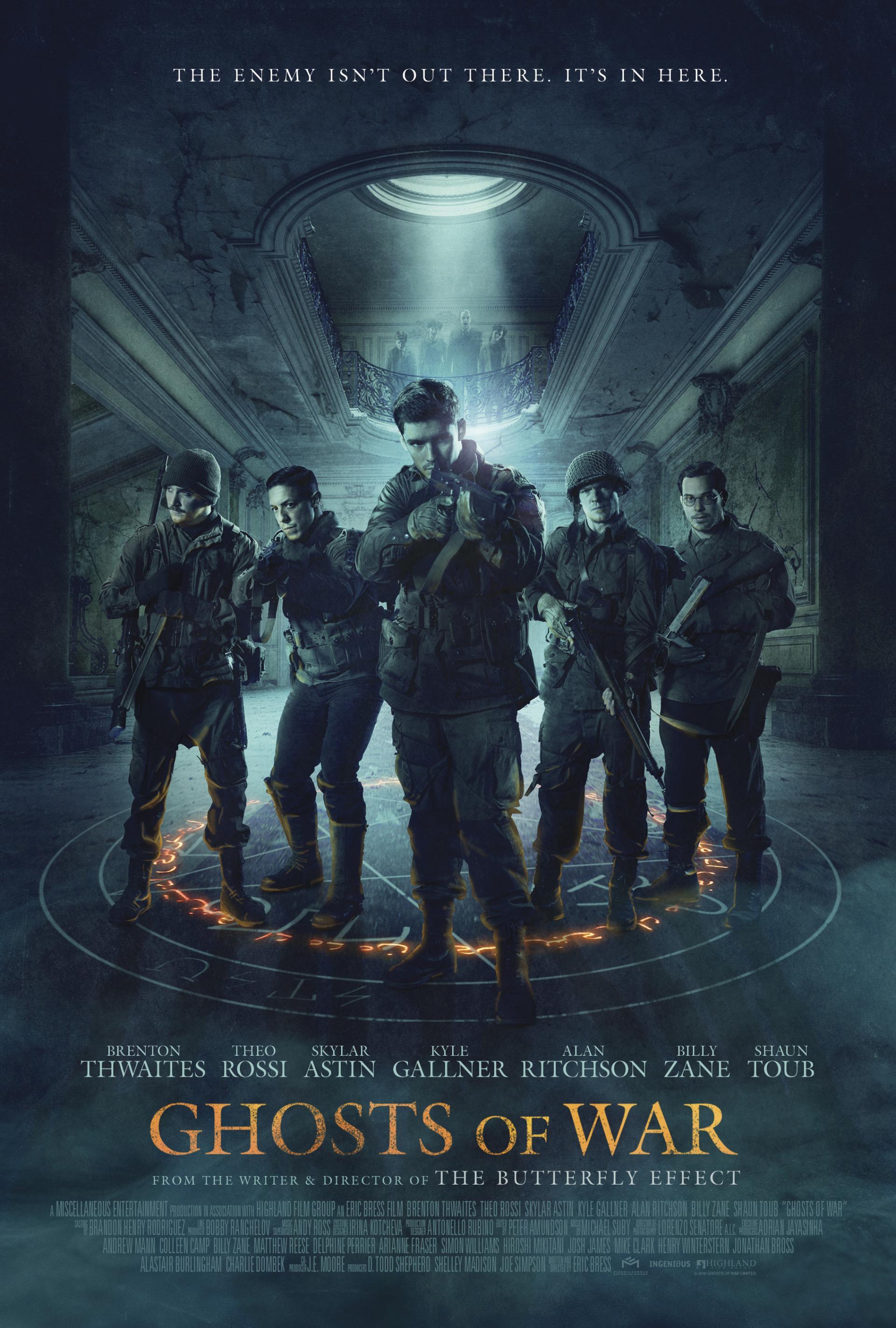 призраки войны постер