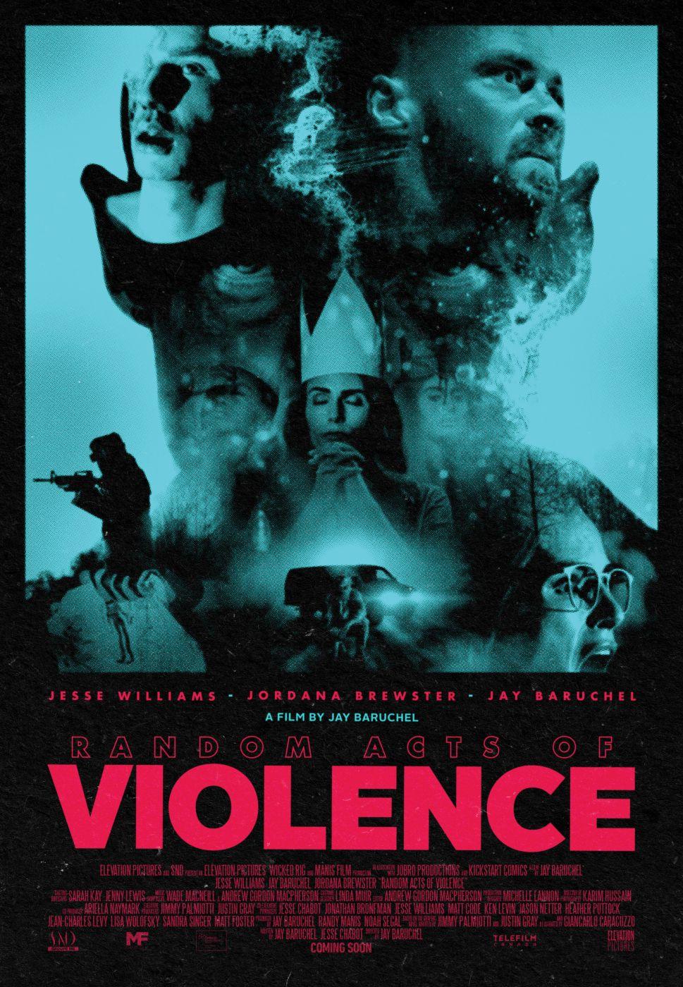 Random Acts of Violence 2019 постер