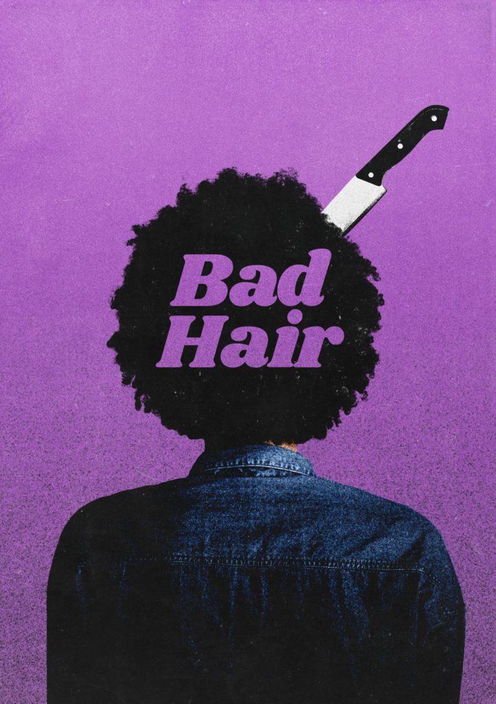 плохие волосы 2020 постер